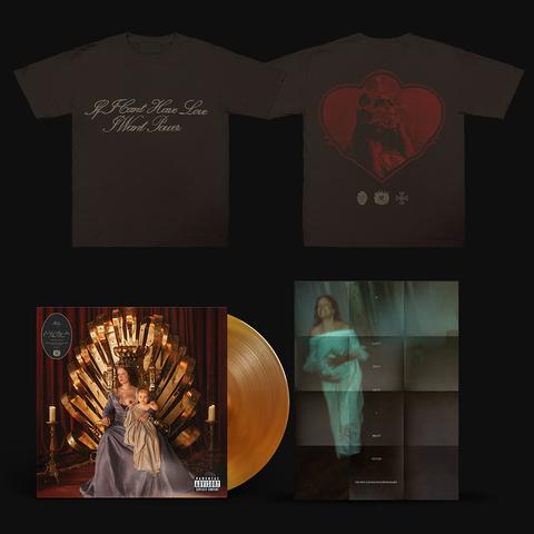 If I Can't Have Love, I Want Power (Exclusive Transparent LP + T-Shirt+ Poster) von Halsey - LP + T-Shirt + Poster jetzt im Bravado Shop