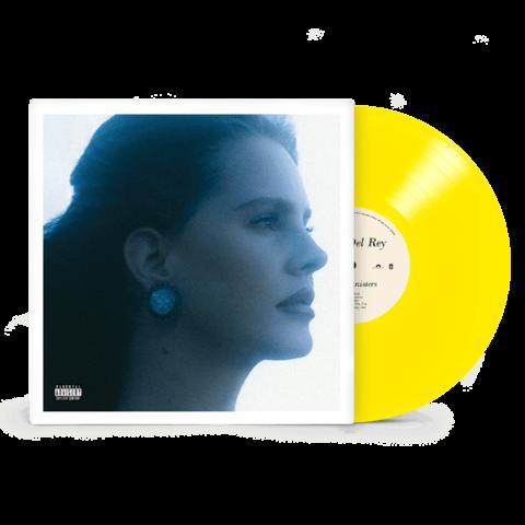 BLUE BANISTERS von Lana Del Rey - TRANSPARENT YELLOW 2LP jetzt im Bravado Store