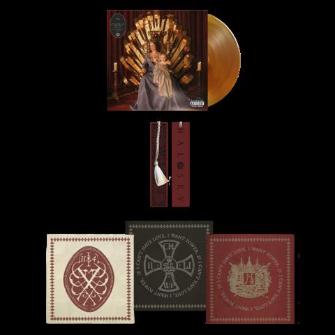 If I Can't Have Love, I Want Power (Transaparent LP + Bandana Set + Bookmark) von Halsey - LP + Bandana Set + Bookmark jetzt im Bravado Shop