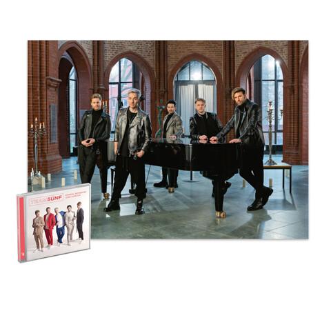 Einmal Boyband Und Zurück (CD + Exklusives Poster) von TEAM 5ÜNF - CD + Poster jetzt im Bravado Store