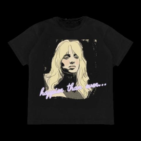 Isolation von Billie Eilish - T-Shirt jetzt im Bravado Store