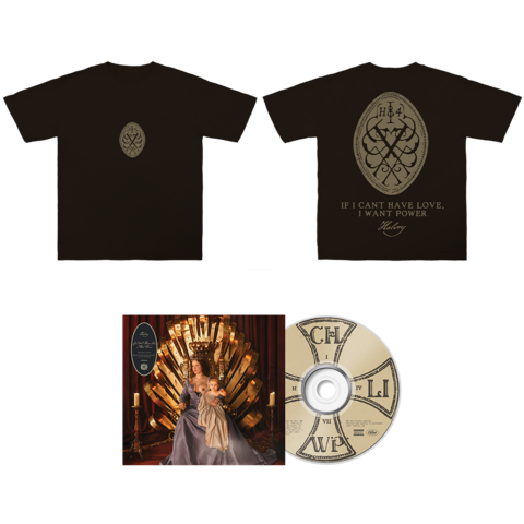 If I Can't Have Love, I Want Power (CD + Excl. Shirt) von Halsey - CD + Shirt jetzt im Bravado Store