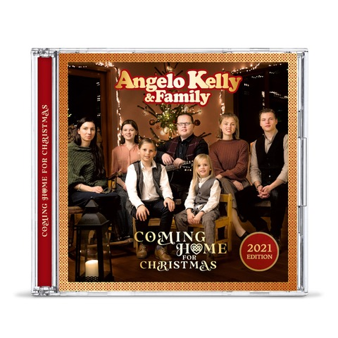 Coming Home For Christmas - 2021 Edition von Angelo Kelly & Family - CD jetzt im Bravado Store