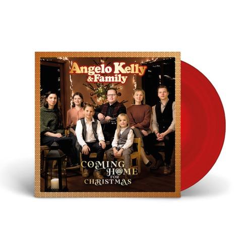 Coming Home For Christmas - 2021 Edition von Angelo Kelly & Family - Limitierte Transparent-Rote Gatefold 180g Vinyl LP jetzt im Bravado Store