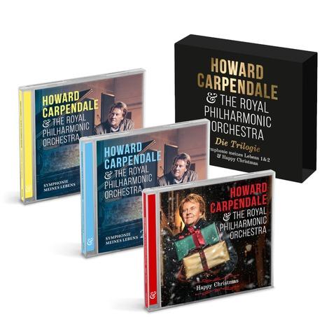 Die Trilogie (Symphonie Meines Lebens 1+2 & Happy Christmas) von Howard Carpendale - 3CD jetzt im Bravado Store