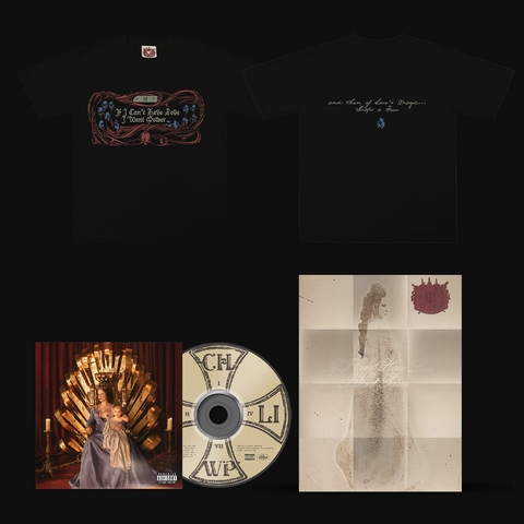 If I Can't Have Love, I Want Power (CD + Skeleton T-Shirt + Letterhead Poster) von Halsey - CD + T-Shirt + Poster jetzt im Bravado Store