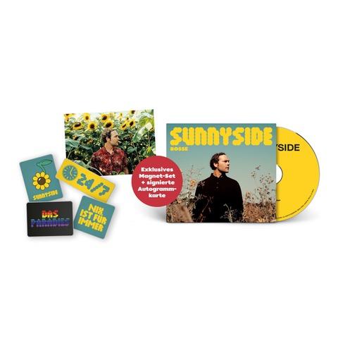Sunnyside (Ltd Bundle: CD + 4er-Magneten Set + signierte Karte) von Bosse - CD + Magneten Set + Karte jetzt im Bravado Store