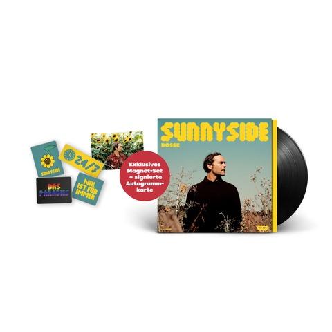 Sunnyside (Ltd Bundle: LP + 4er-Magneten Set + Signierte Karte) von Bosse - LP + Magneten Set + Karte jetzt im Bravado Store