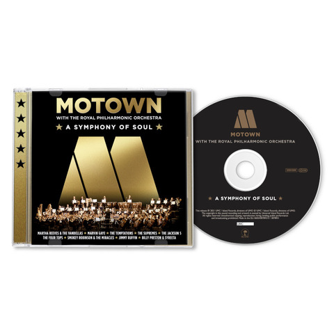 Motown: A Symphony Of Soul (With The Royal Philharmonic Orchestra) von Various Artists - Motown - CD jetzt im Bravado Store
