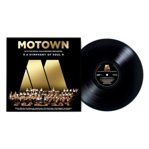 Motown: A Symphony Of Soul (With The Royal Philharmonic Orchestra) von Various Artists - Motown - LP jetzt im Bravado Store