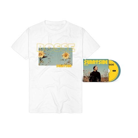 Sunnyside (Ltd. Deluxe 2CD + Sunnyside Foto T-Shirt) von Bosse - Deluxe 2CD + T-Shirt jetzt im Bravado Store