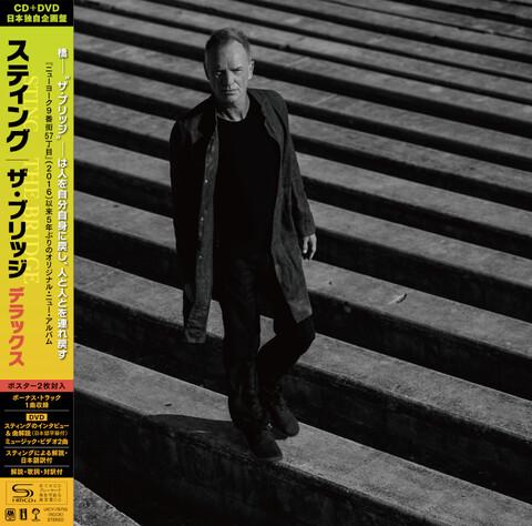 The Bridge - Japan Deluxe CD (SHM-CD) + DVD von Sting - SHM CD + DVD jetzt im Bravado Store