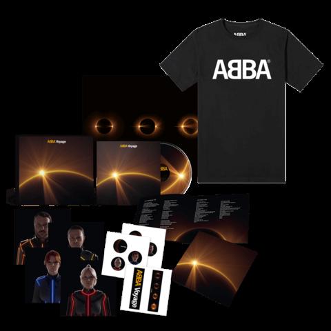 Voyage (Deluxe Box + T-Shirt) von ABBA - Deluxe Box + T-Shirt jetzt im Bravado Store