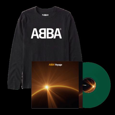 Voyage (Store Exclusive Green Vinyl + Longsleeve) von ABBA - LP + Longsleeve jetzt im Bravado Store