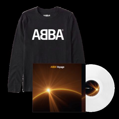 Voyage (Store Exclusive White Vinyl + Longsleeve) von ABBA - LP + Longsleeve jetzt im Bravado Store