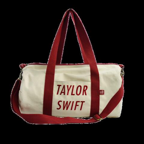 TAYLOR SWIFT RED AND CREAM von Taylor Swift - DUFFLE BAG jetzt im Bravado Store