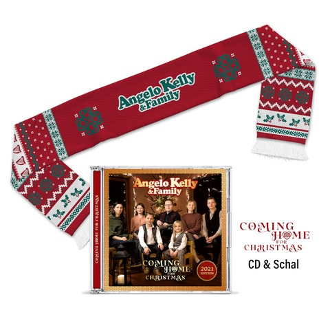 Coming Home For Christmas - X-Mas Bundle von Angelo Kelly & Family - CD + Weihnachtsschal jetzt im Bravado Store