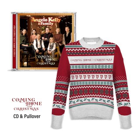Coming Home For Christmas - X-Mas Bundle von Angelo Kelly & Family - CD + Weihnachtspulli jetzt im Bravado Store