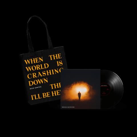 Would I Lie To You von Nico Santos - Signierte 12'' Vinyl + Tasche jetzt im Bravado Store