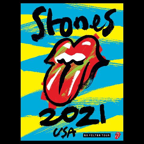No Filter 2021 von The Rolling Stones - Lithograph jetzt im Bravado Store