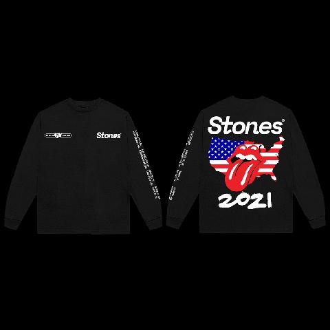 No Filter USA 2021 von The Rolling Stones - Longsleeve jetzt im Bravado Store