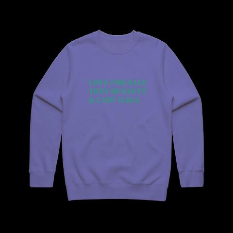 LOVE FOR SALE von Tony Bennett & Lady Gaga - Crewneck Sweatshirt jetzt im Bravado Store