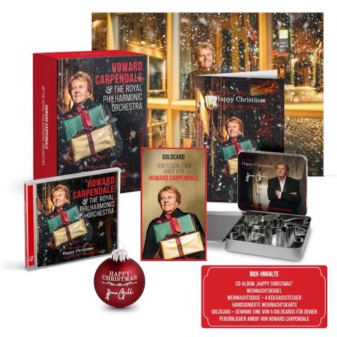 Happy Christmas von Howard Carpendale - Limitierte CD Fanbox + Exklusives Poster jetzt im Bravado Store