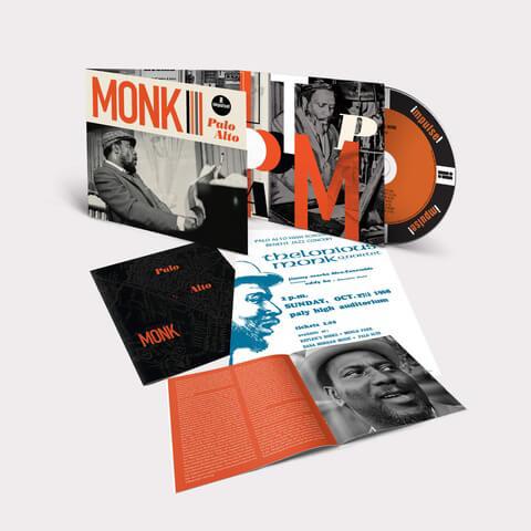 √The Palo Alto High School Concert (1968) von Thelonious Monk - CD jetzt im Bravado Shop