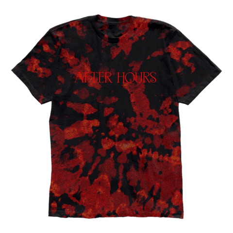 √After Hours Bleed Dye von The Weeknd - T-Shirt jetzt im Bravado Shop
