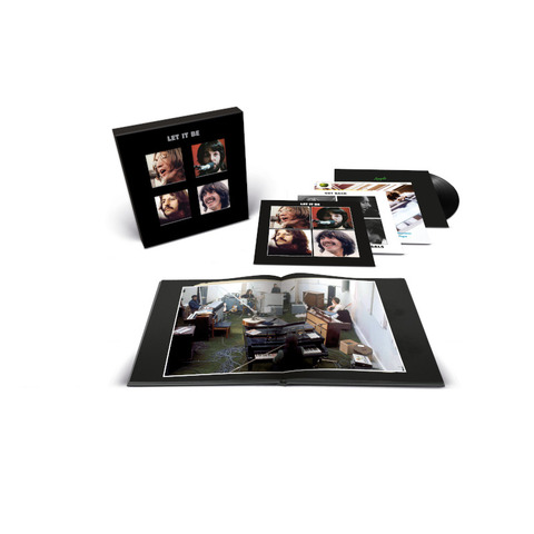 Let It Be (Special Edition) (Limited Super Deluxe Vinyl 4LP + 12INCH) von The Beatles - 4LP + 12INCH Boxset jetzt im Bravado Store