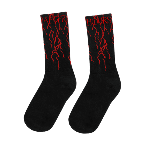 After Hours Bloodwork von The Weeknd - Socken jetzt im Bravado Shop