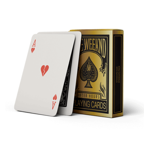 √After Hours von The Weeknd - Card game jetzt im Bravado Shop
