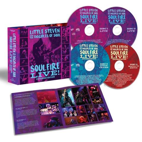 √Soulfire Live (4CD) von Little Steven & The Disciples Of Soul -  jetzt im Bravado Shop