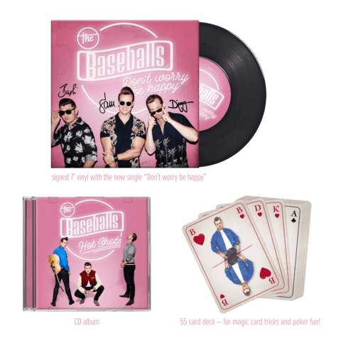 √Hot Shots (Ltd. Deluxe Edition) von The Baseballs - Box jetzt im Bravado Shop