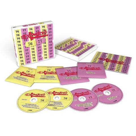 Sex Pistols - 76-77 (4CD) von Sex Pistols - 4CD jetzt im Bravado Store