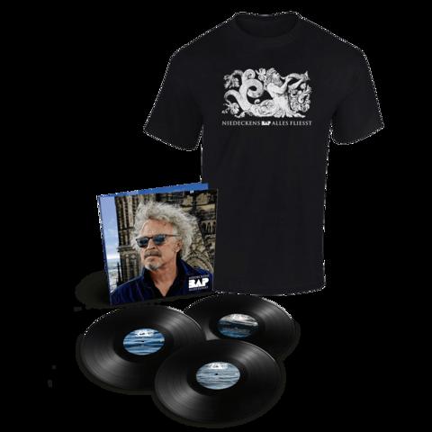 √Alles fliesst (3LP inkl. Bonus Live LP + T-Shirt, Gr. XL) von Niedeckens BAP -  jetzt im Bravado Shop