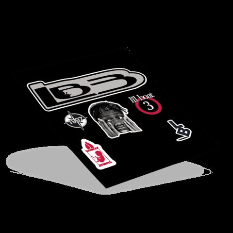 √LB3 von Lil Yachty - Sticker Pack jetzt im Bravado Shop