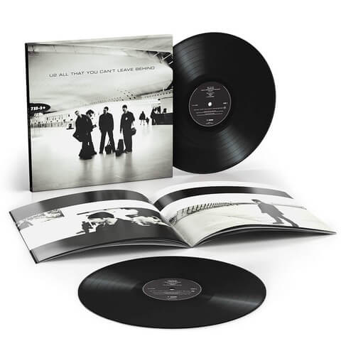 All That You Can't Leave Behind Standard 2LP von U2 - 2LP jetzt im Bravado Shop