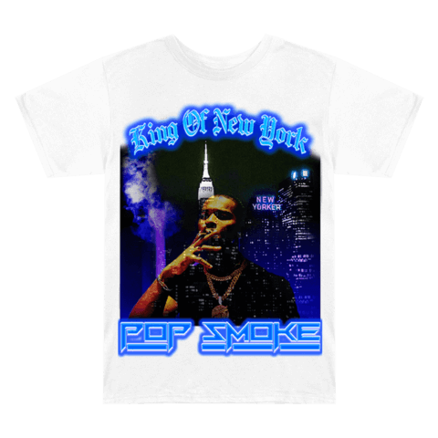 √King of New York von Pop Smoke - T-Shirt jetzt im Bravado Shop