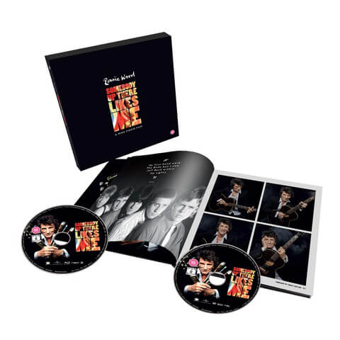 √Somebody Up There Likes Me (Ltd. Hardback Book - DVD+BD) von Ronnie Wood - DVD+BD jetzt im Bravado Shop