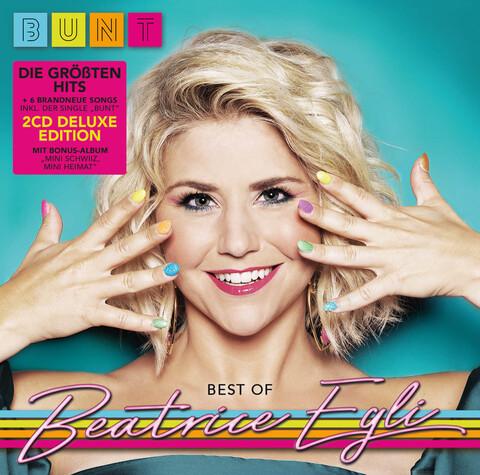 √BUNT - Best of (2CD Deluxe Edition: 6 neue Songs, die größten Hits + Bonus CD Album) von Beatrice Egli - 2CD jetzt im Bravado Shop