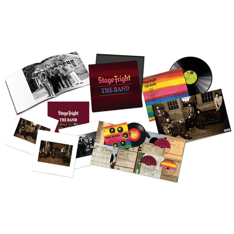 √Stage Fright - 50th Anniversary (Ltd. Super Deluxe Boxset) von The Band - Box set jetzt im Bravado Shop