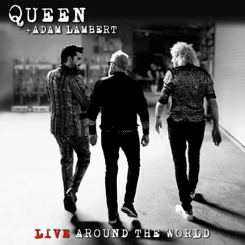 √Live Around The World (CD + DVD) von Queen + Adam Lambert -  jetzt im Bravado Shop