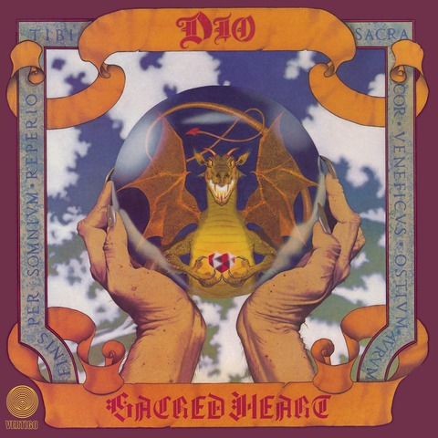√Sacred Heart von DIO - LP jetzt im Bravado Shop
