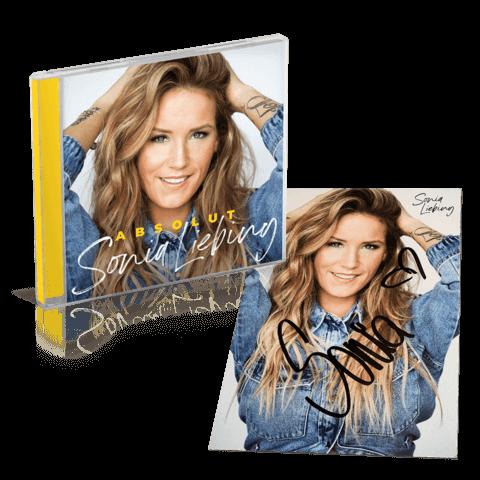 √Absolut (CD + Autogrammkarte) von Sonia Liebing - CD Bundle jetzt im Bravado Shop