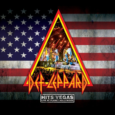 Hits Vegas, Live At Planet Hollywood (Ltd. Coloured 3LP) von Def Leppard - 3LP jetzt im Bravado Shop