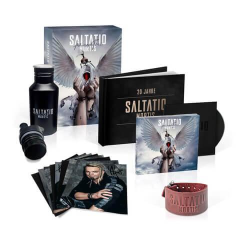 √Für immer frei (Ltd. Fanbox inkl. signiertem Karten Set + Armband) von Saltatio Mortis - Musik-Bundle jetzt im Bravado Shop