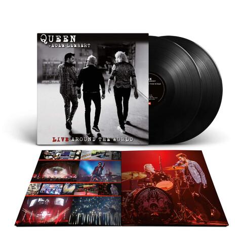Live Around The World von Queen + Adam Lambert - 2LP jetzt im Bravado Shop