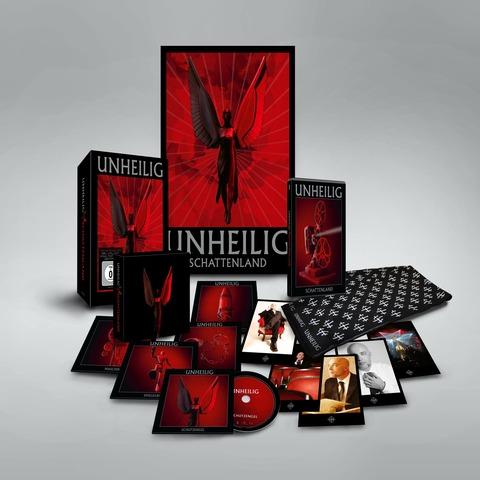 √Schattenland (Ltd. Deluxe Box) von Unheilig - Box set jetzt im Bravado Shop