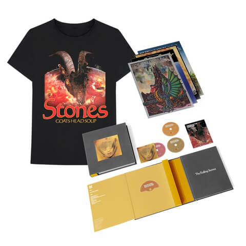 "√Goats Head Soup (2020 Super Deluxe Box Set + ""Goat Head"" Tee) von The Rolling Stones - CD Bundle jetzt im Bravado Shop"